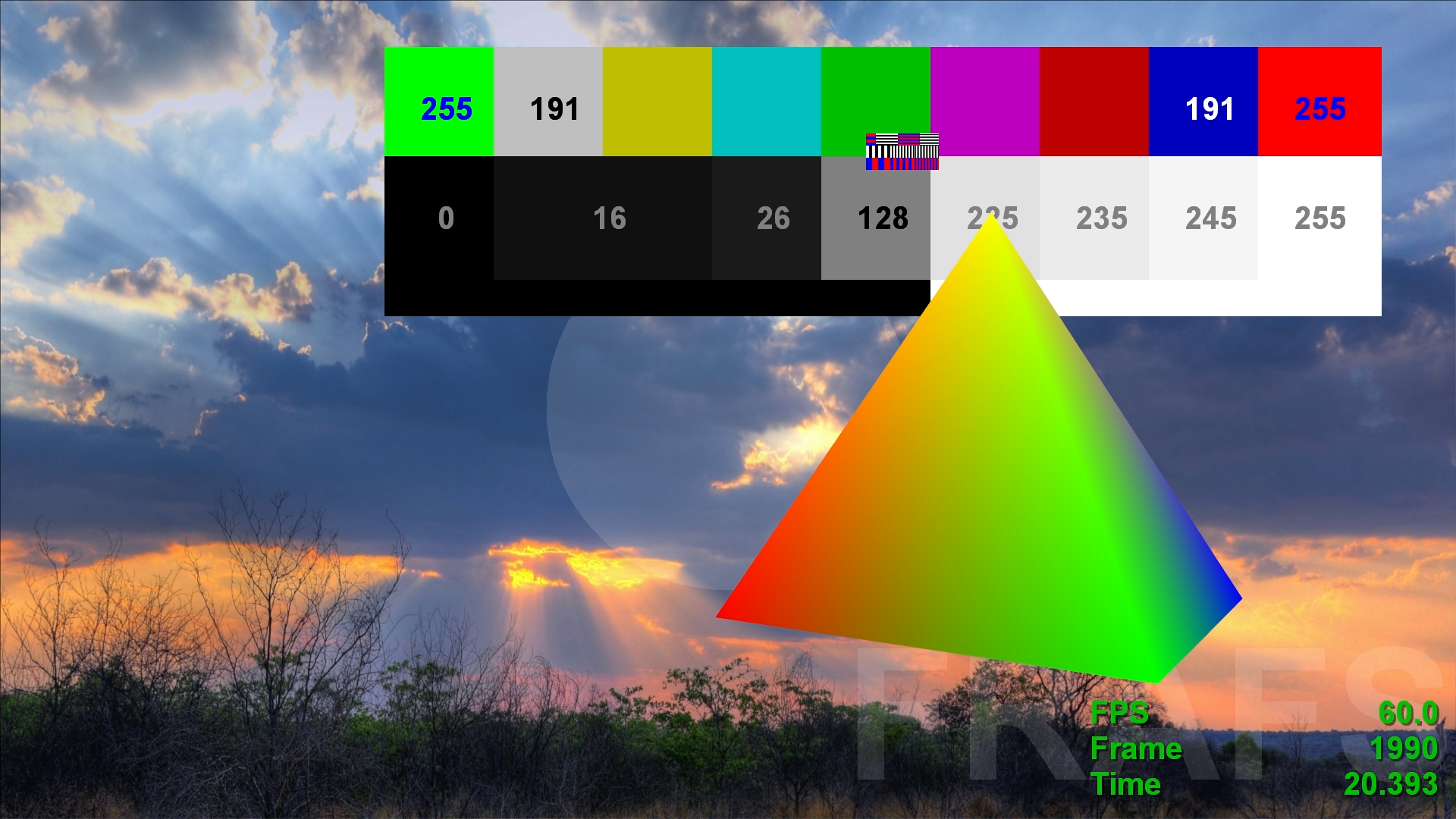 Online yuv color picker - But Colors Are Different In Yuv As I Said