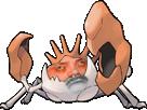 Sticker risitas pokemon krabboss