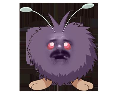 Sticker pokemon mimitoss risitas