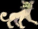Sticker pokemon persian risitas