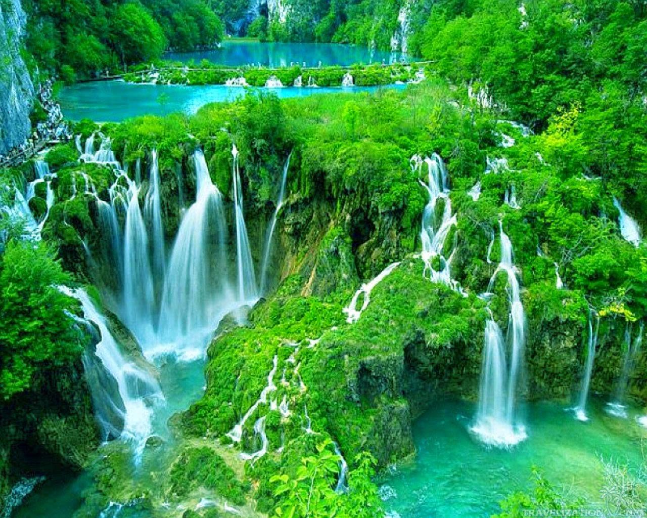 Le parc de Plitvice  - Croatie -   dans Nature 1478280772-16052202490911174