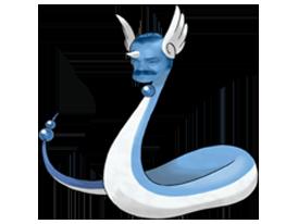 Sticker pokemon draco risitas
