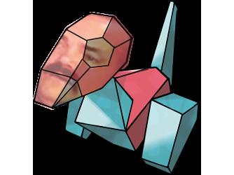 Sticker pokemon porygon risitas