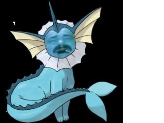 Sticker risitas aquali pokemon