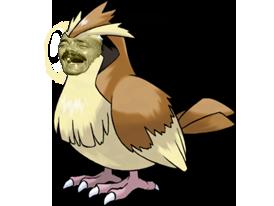 Sticker risitas pokemon roucool