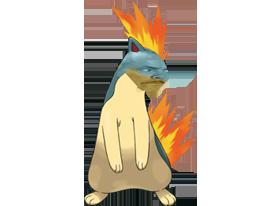 Sticker feurisson faurisson pokemon risitas johto