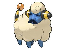 Sticker wattouat pokemon risitas johto mouton
