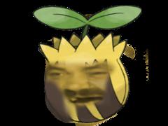 Sticker tournegrin pokemon risitas johto
