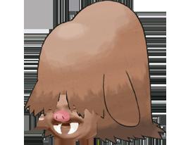 Sticker cochignon pokemon risitas johto
