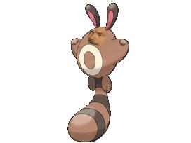 Sticker risitas pokemon johto fouinette