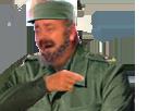 Sticker risitas jesus armee communiste communisme soldat fidel castro agentfisher