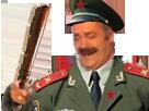 Sticker risitas jesus armee communiste communisme soldat agentfisher