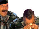Sticker risitas soldat armee jesus