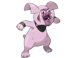 Sticker granbull pokemon risitas johto