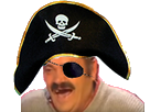 Sticker risitas pirate
