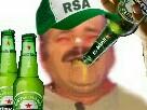 Sticker risitas rsa biere casquette