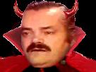 Sticker halloween diable