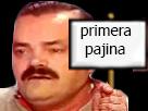 Sticker premiere first page primera pajina risitas panneau