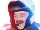 Sticker gilbert police france casque