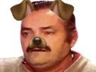 Sticker risitas chien filtre snapchat kikoo aw