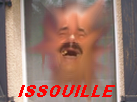 Sticker tache risitas issou issouille rire sourire