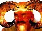 Sticker satan