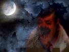 Sticker fantome ghost risitas esprit satan peur screamer alerte