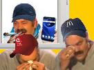 Sticker esclave rsa racaille shit drogue cigarette gilbert mc do