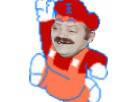 Sticker risitas mario