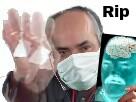 Sticker rip docteur medecin radio