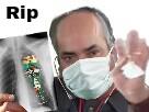 Sticker risitas poumons dechet docteur medecin radio