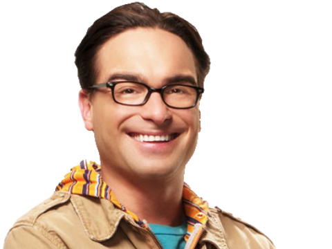 Sticker tbbt the big bang theory leonard sourire