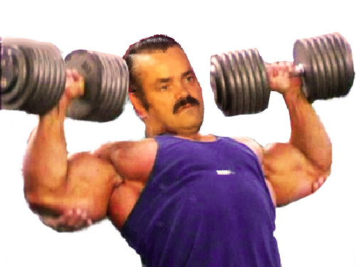 Sticker muscu sport haltere