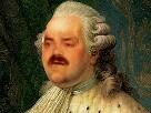 Sticker risitas louis 16 aristocrate roi