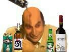 Sticker rsa biere alcool jesus rsa