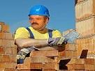 Sticker portugais macon travailleur maison brique truelle ciment