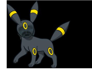 Sticker noctali pokemon johto risitas
