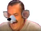 Sticker risitas sale rat rire