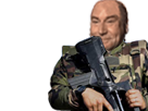 Sticker jesus soldat armee agentfisher