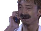 Sticker risitas chinois asiatique telephone