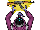 Sticker lol league of legends jax ak47