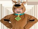 Sticker risitas scooby doo costume cosplay