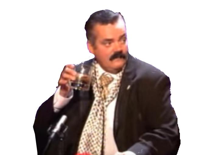 Sticker risitas drink classe