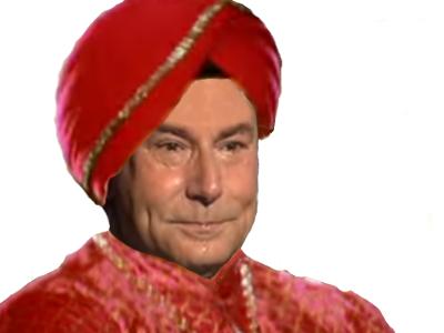 Sticker jesus inde turban