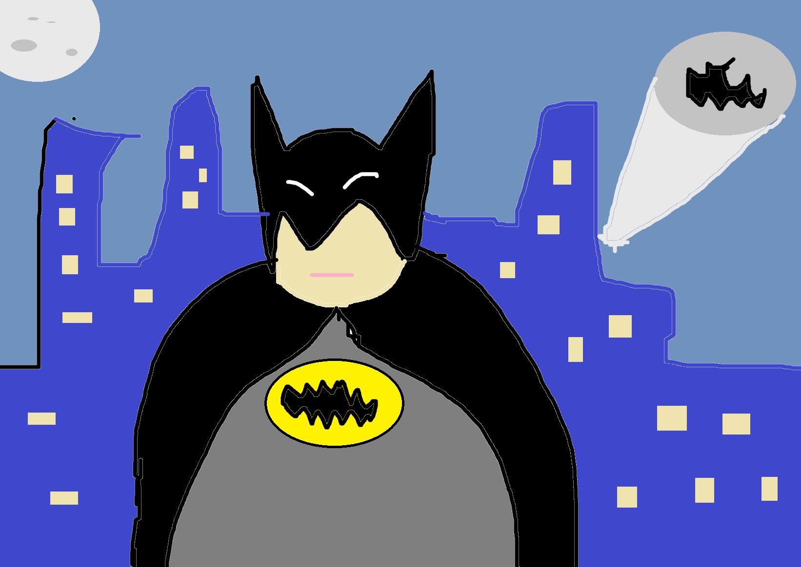 Mon Dessin Batman 20 Sur Le Forum Blabla 18 25 Ans 10 12 2016