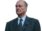 Sticker chirac sama destin president badass