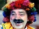 Sticker risitas clown cirque