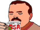 Sticker risitas tasse eco plus rsa