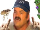 Sticker risitas esclave mcdo mac mag donald pleure puces poux