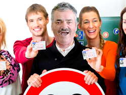 Sticker permis